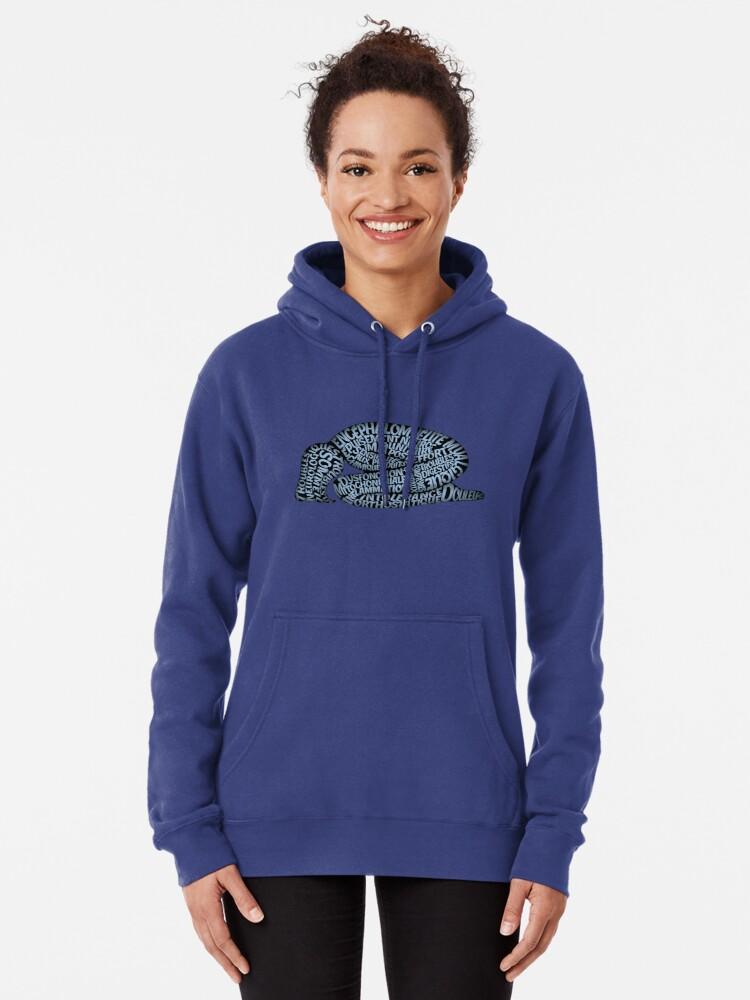 Alternate view of Les ravages de l'EM by Jill Thompson Pullover Hoodie