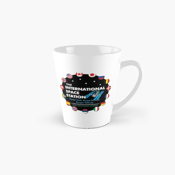 The International Space Station • Now Welcoming Tourists Tall Mug