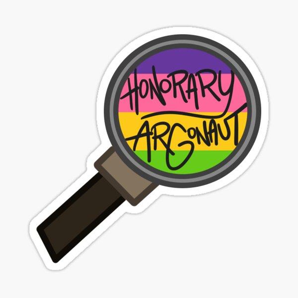 Honorary ARGonaut Sticker (Lesbian Alternate) Sticker