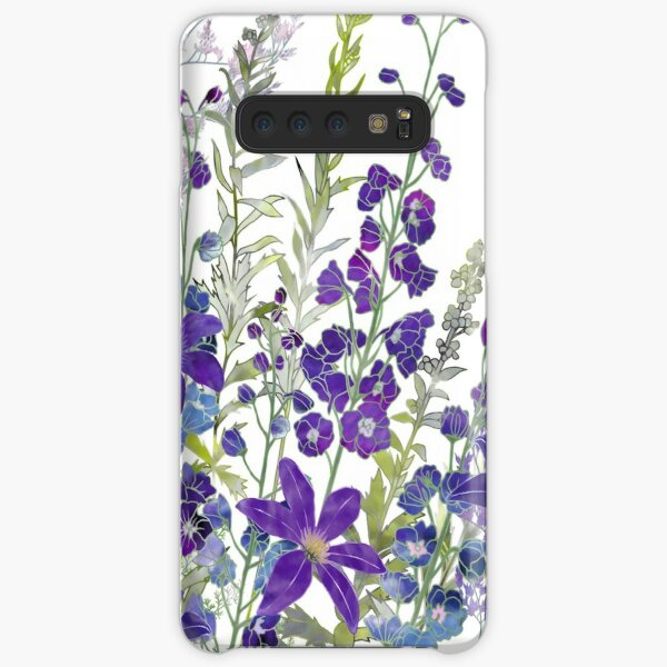 Cluster of Purples Samsung Galaxy Snap Case