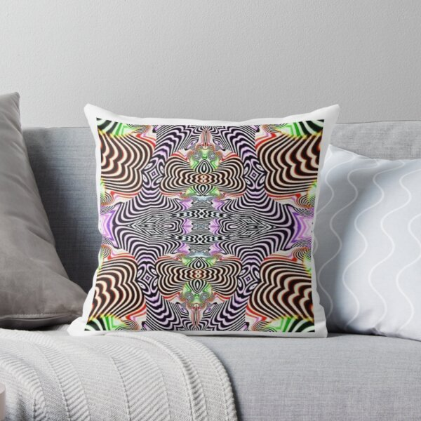 #Hypnotic #Images #HypnoticImages Throw Pillow
