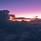 Sunrise at 10.000 mt by Antonio Zarli