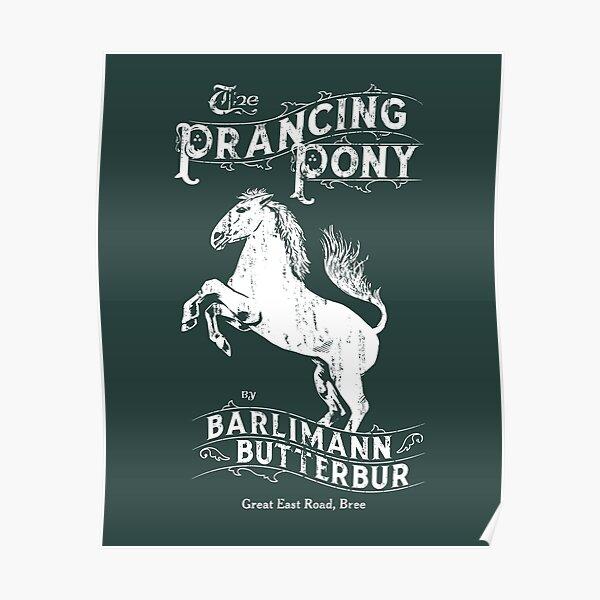 Le signe du poney cabré Poster