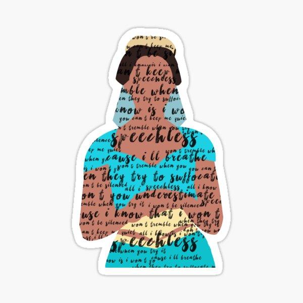 jasmine speechless Sticker
