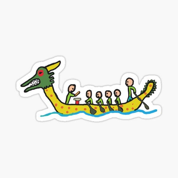 Dragon Boat Racing Sticker
