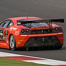 Chad Racing Ferrari No 10 by Willie Jackson