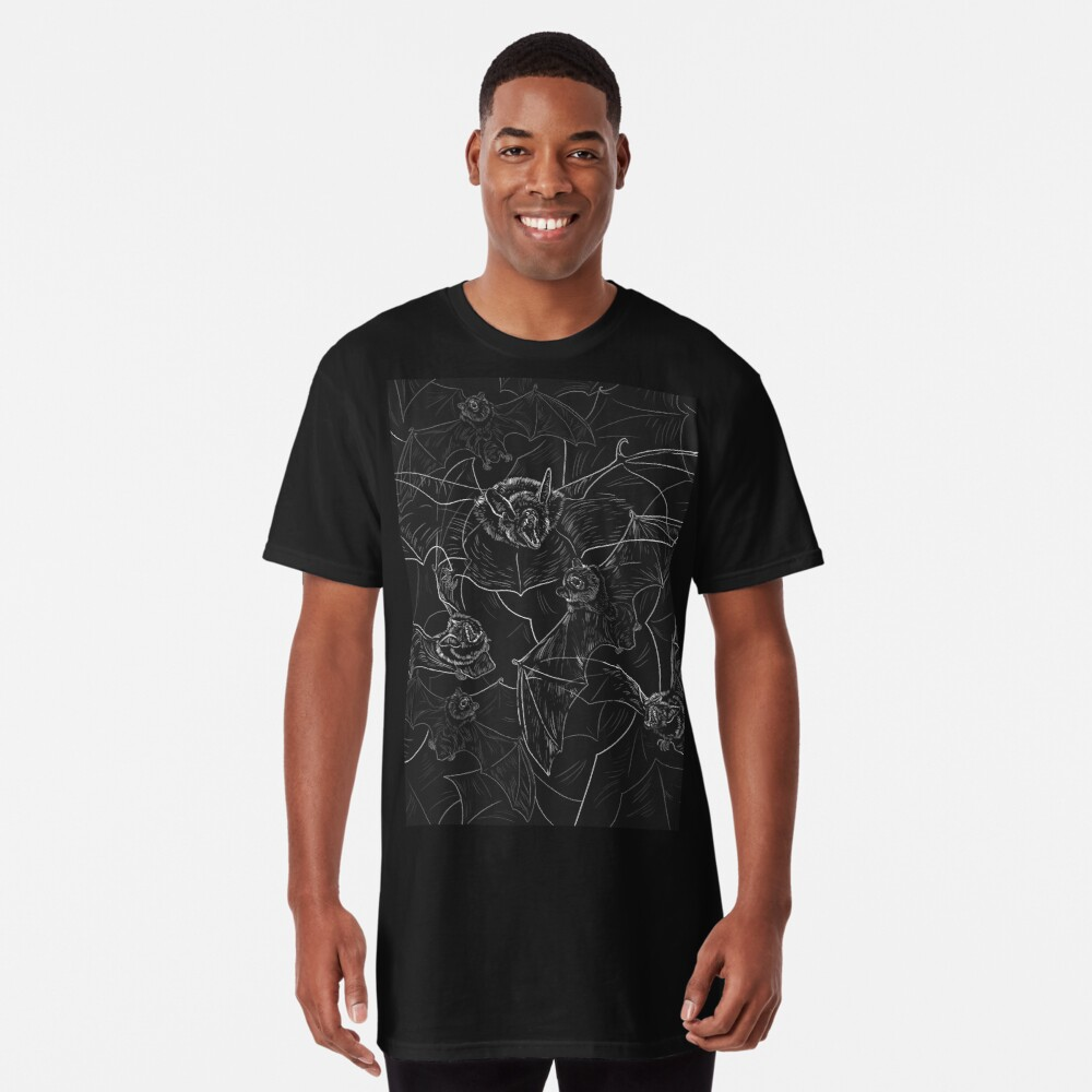 Bat Attack Long T-Shirt