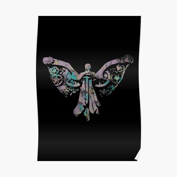 Colourful Clockwork Angel Poster