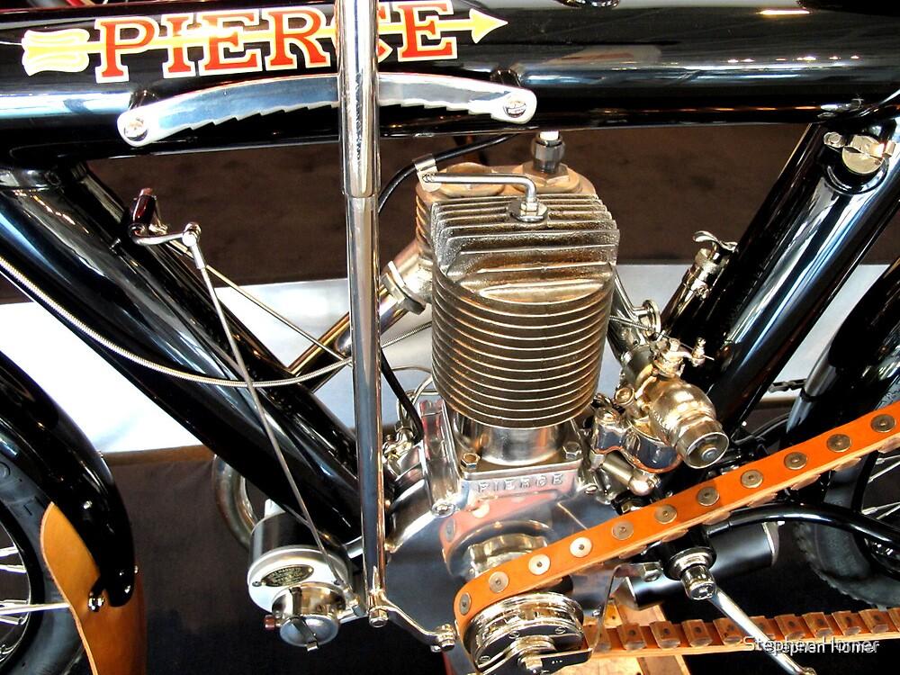 1914 Pierce  Motorcycle  #1, 2, 3 by Stephen Homer