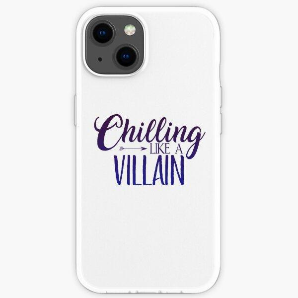 Descendants Chilling like a villain iPhone Soft Case