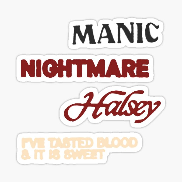 nightmare sticker pack  Sticker