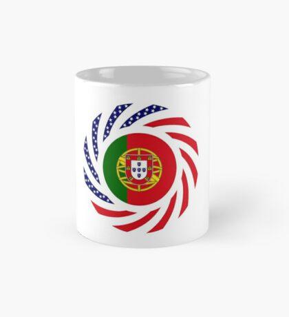 Portuguese American Multinational Patriot Flag Series Mug