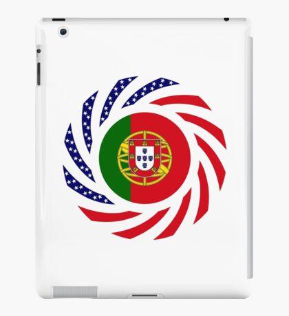 Portuguese American Multinational Patriot Flag Series iPad Case/Skin