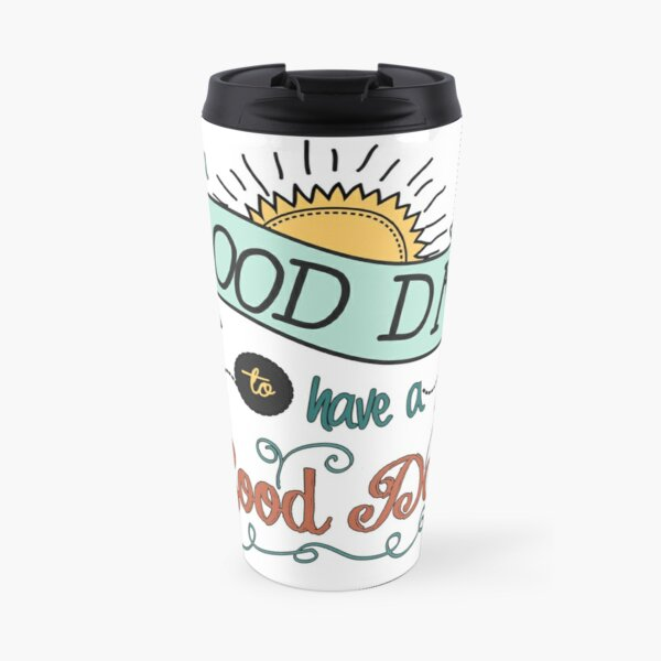 It's a Good Day with Color by Jan Marvin Travel Mug