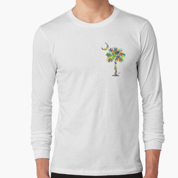 South Carolina is Simply Amazing Palm Tree Long Sleeve T-Shirt