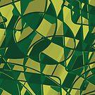 Abstrakter futuristischer Hintergrund 3D X. 16 von tamaya111