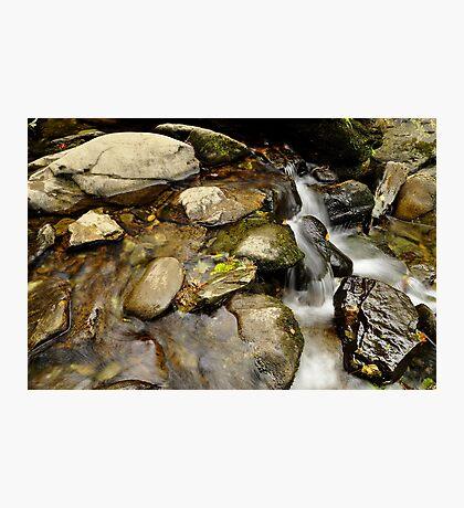 still water flows. Photographic Print