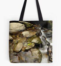 still water flows. Tote Bag