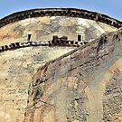 Teil des Pantheon-Äußeren ....................... Rom von Fara