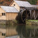 Mabry Mill of Floyd County by angora998