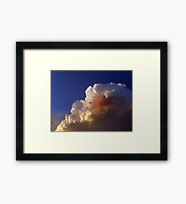 ©HCS Vanishing Point In Cumulos Tower IA. Framed Print