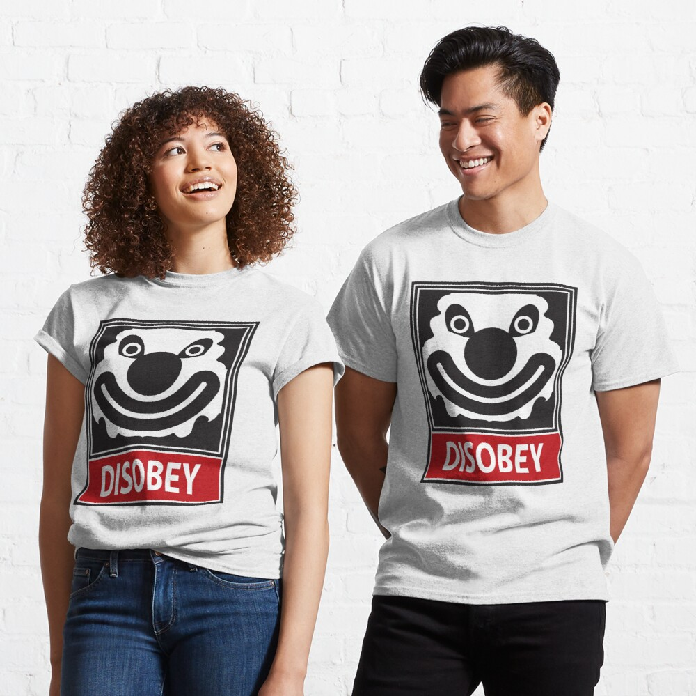 DISOBEY by Roley Classic T-Shirt