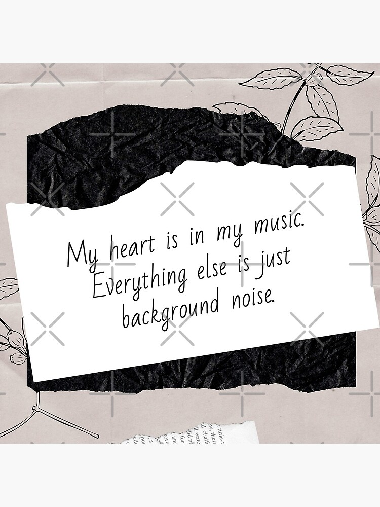 My Heart is in My Music | Lesson Learned by chelledavies
