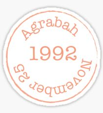 Agrabah  Sticker