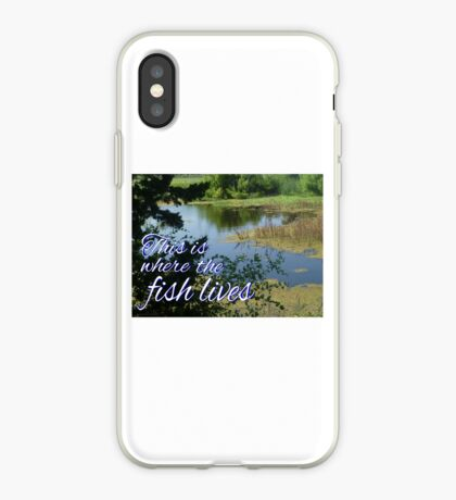 This is Where the Fish Lives iPhone Case