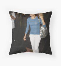 Eva longoria  Throw Pillow
