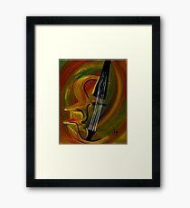 Simplistic Symphony 1 Framed Print