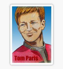 Tom Paris Sticker