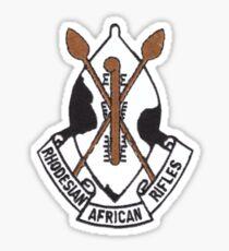 Rhodesian African Rifles Sticker
