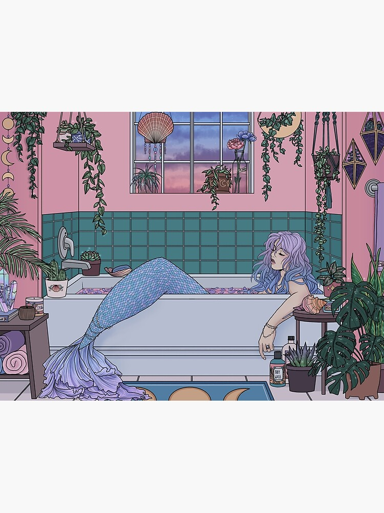 Urban Mermaid by kelseydraws