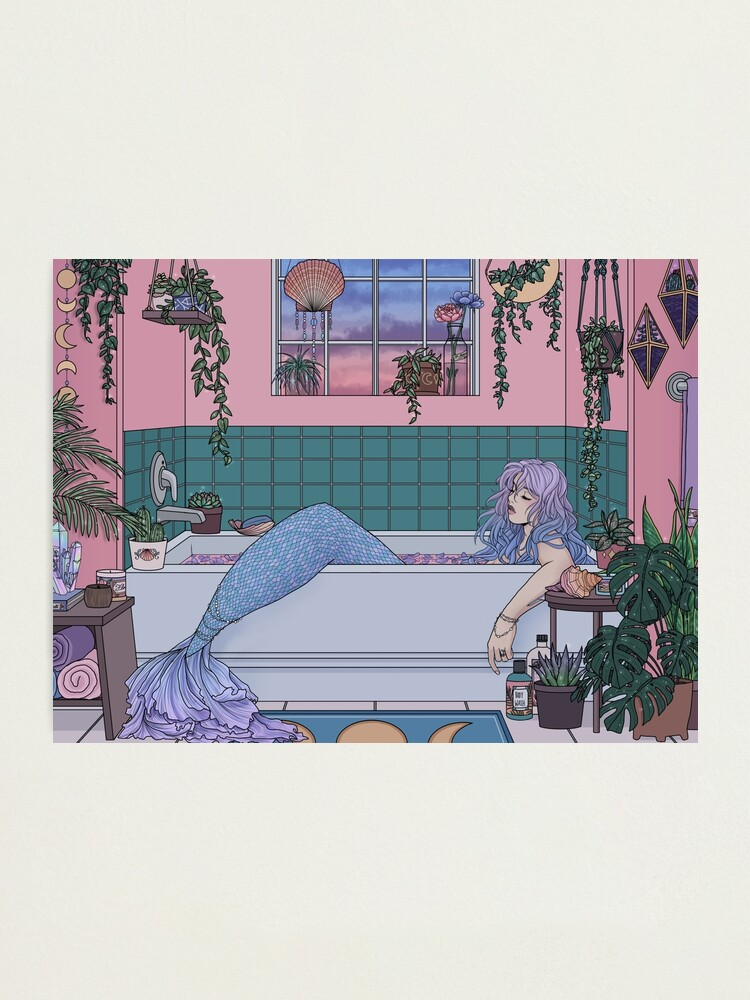 Alternate view of Urban Mermaid Photographic Print