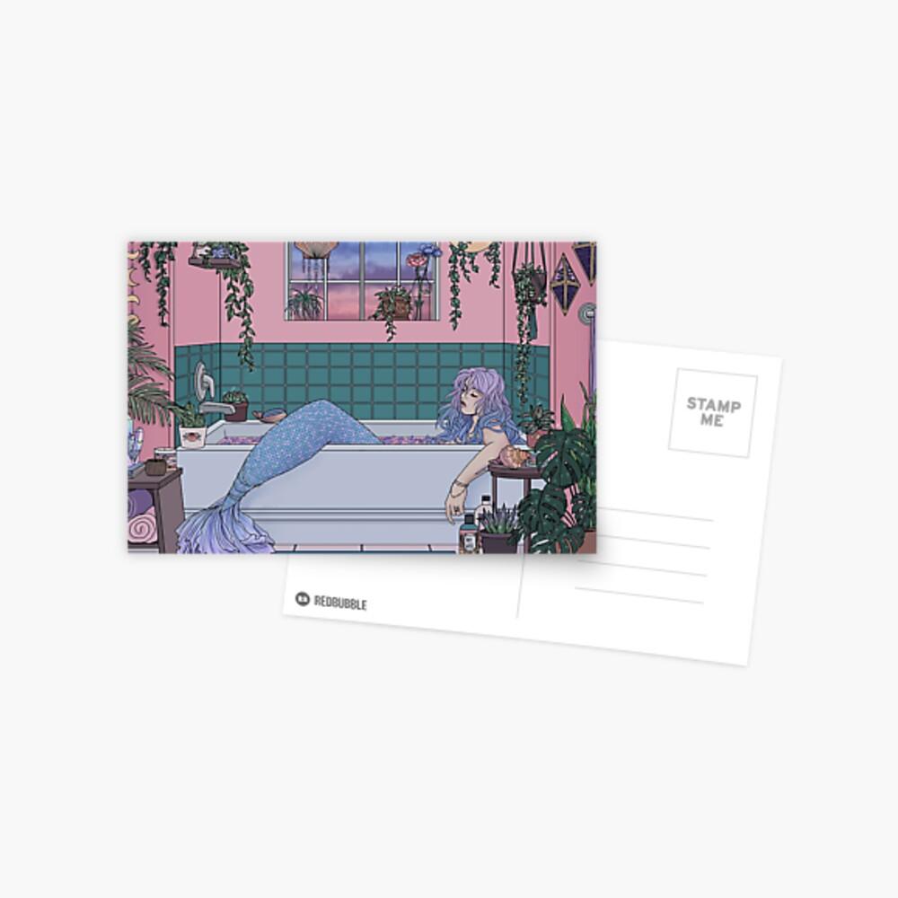 Urban Mermaid Postcard