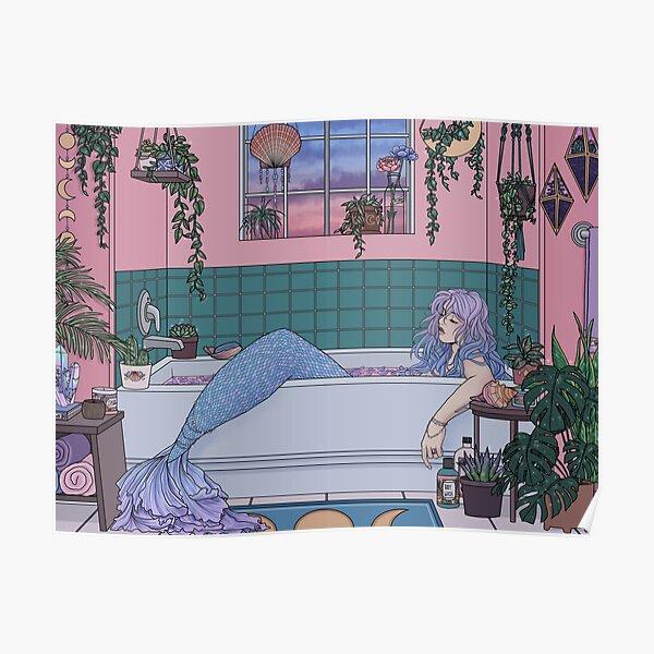 Urban Mermaid Poster
