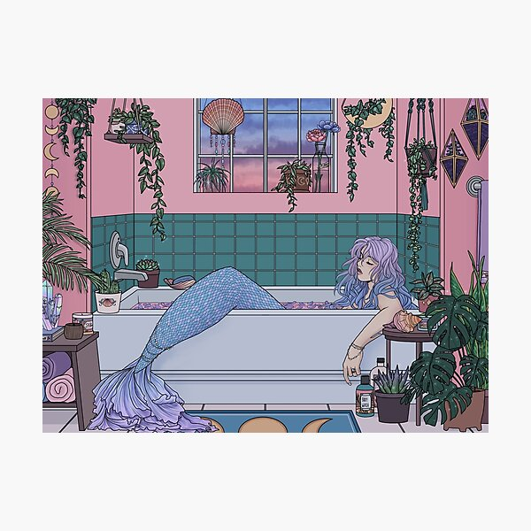 Urban Mermaid Photographic Print