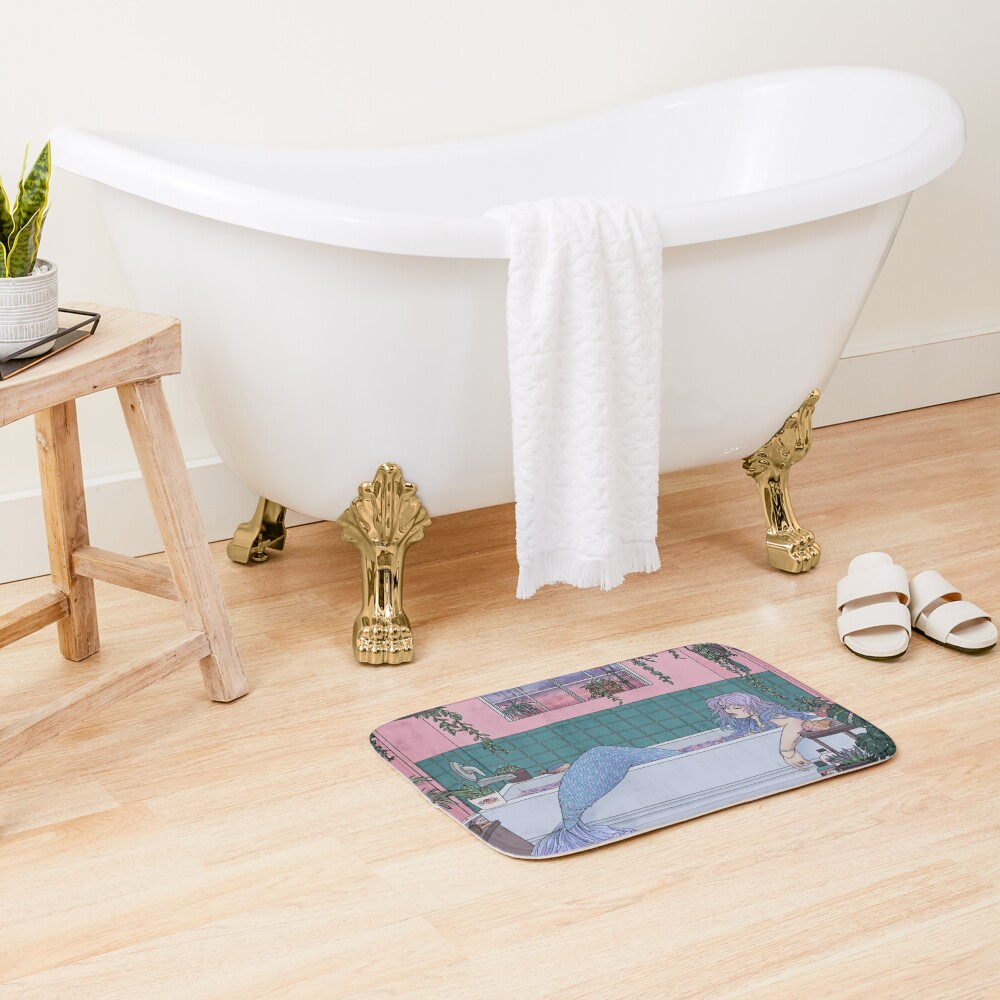 Urban Mermaid Bath Mat