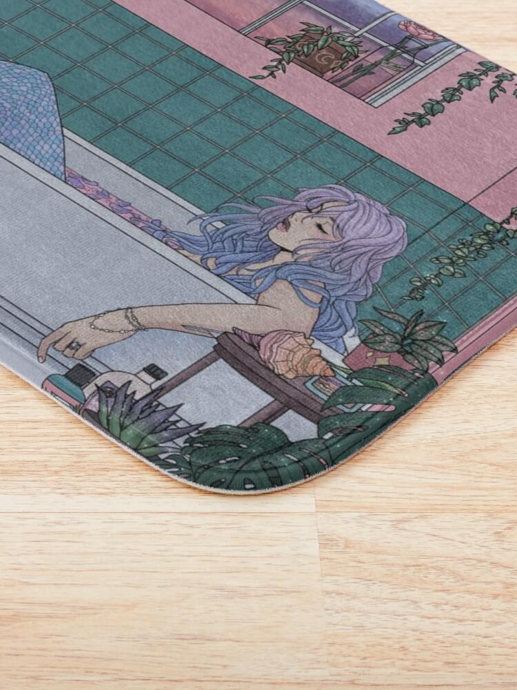 Alternate view of Urban Mermaid Bath Mat