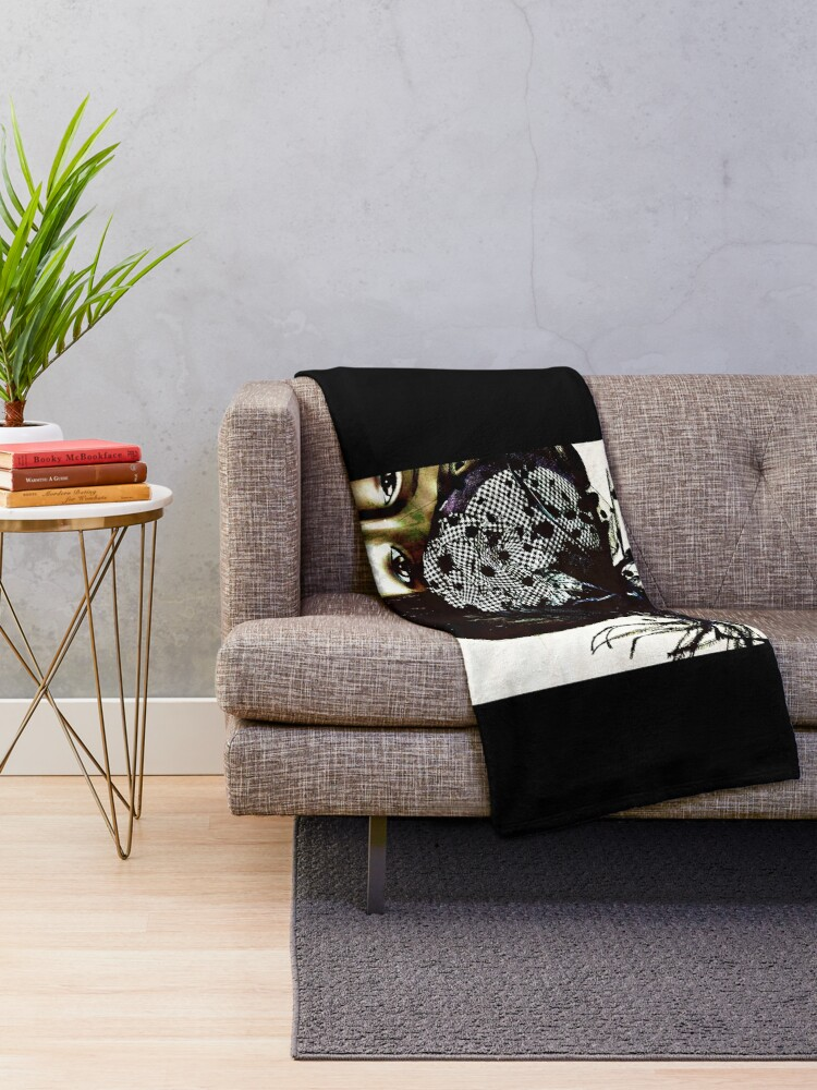 Alternate view of Fashion Gift - Style Warrior - Dollhouse Collection - Fashion Blogger Present Throw Blanket