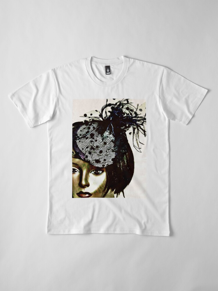 Alternate view of Fashion Gift - Style Warrior - Dollhouse Collection Premium T-Shirt