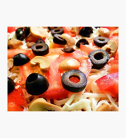 Homemade Pizza Photographic Print