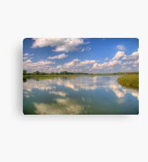 Yahara River Reflections Canvas Print