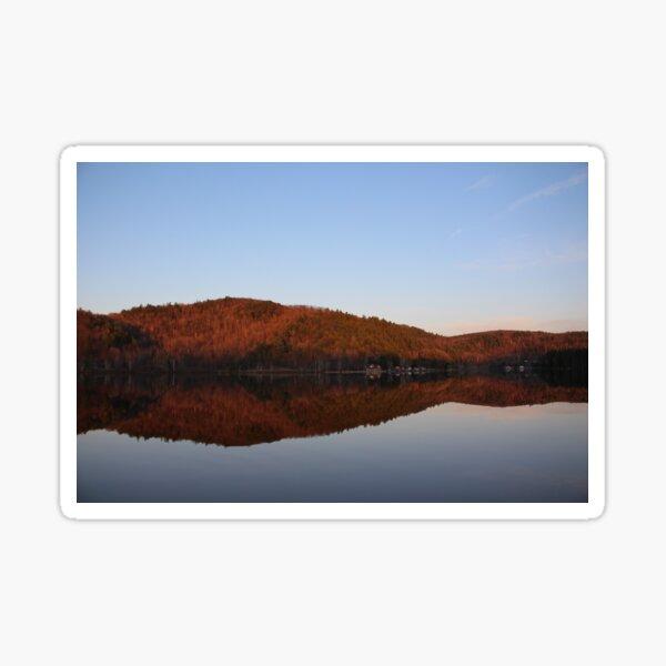 Landscapes: Mirror Lake (Dusk) Sticker