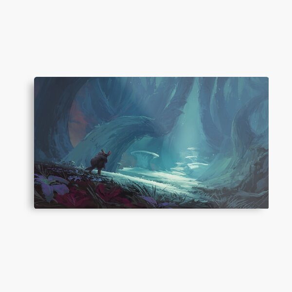 Made In Abyss - Nanachi/Mitty Metal Print