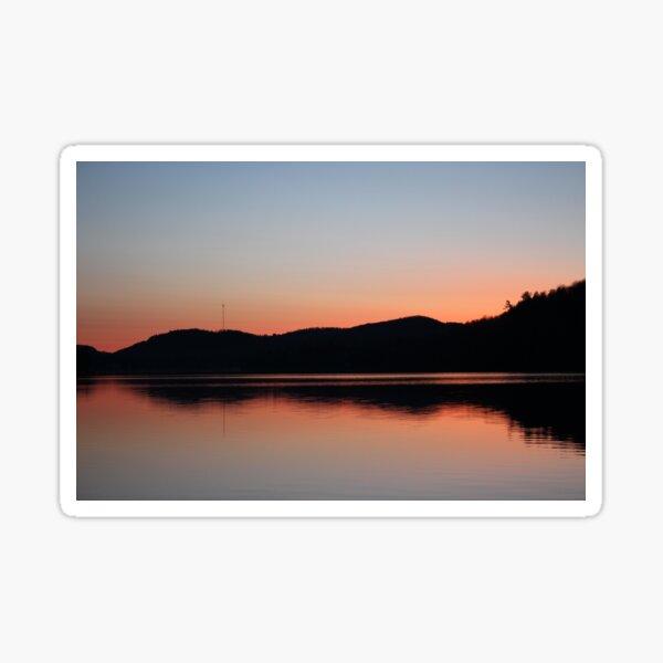 Landscapes: Sunrise (Peach) Sticker