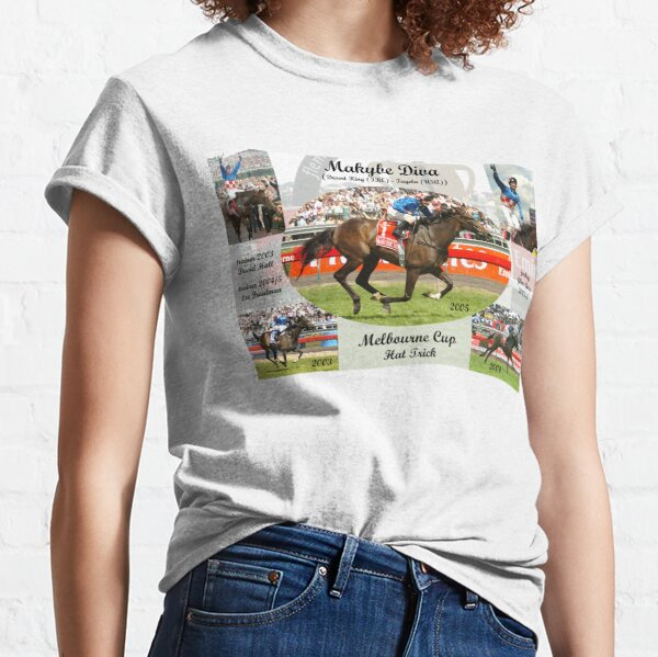 Makybe Diva Melbourne Cup Hat Trick Classic T-Shirt