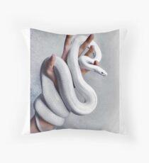 White Snake Floor Pillow