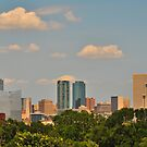 Postcard View - Downtown Fort Worth, Texas, USA by ArtCooler